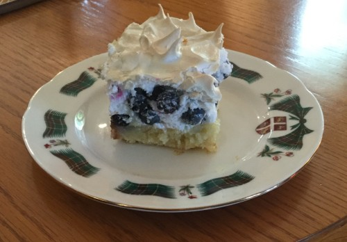 Traditional Newfoundland Blueberry Squares Recipe