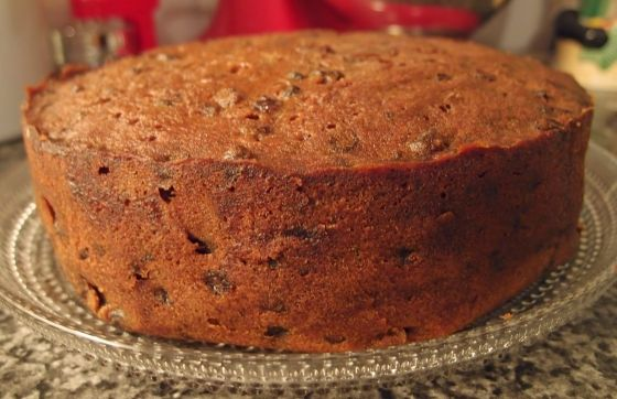 Traditional Newfoundland Light Fruit Cake Recipe