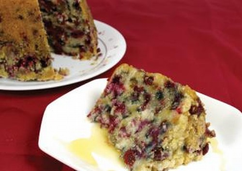Traditional Newfoundland Partridgeberry Steamed Pudding Recipe