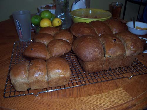 Traditional Newfoundland Old Fashioned Christmas Sweet Bread Recipe