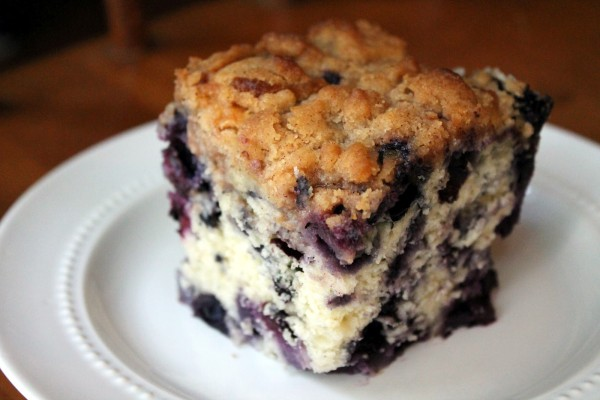 Traditional Newfoundland Blueberry Buckle Recipe