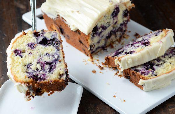 Traditional Newfoundland Blueberry Pound Cake Recipe