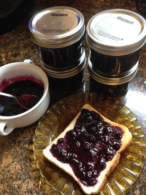 Traditional Newfoundland Blueberry Jam Recipe