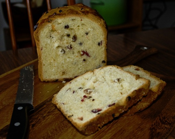 Christmas Fruit Bread Recipe