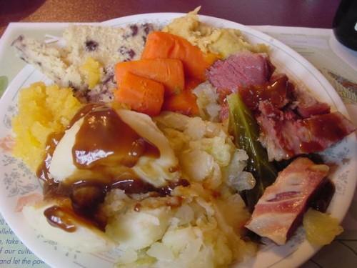 Jiggs Dinner Recipe