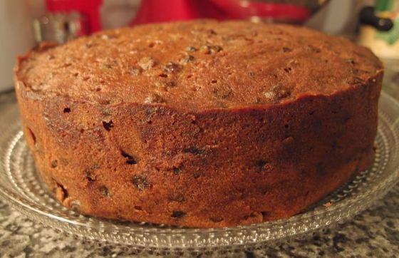 Traditional Newfoundland Light Fruit Cake Recipe