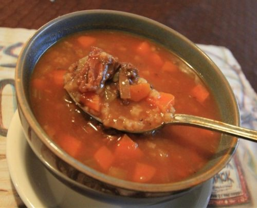 Moose Soup Recipe