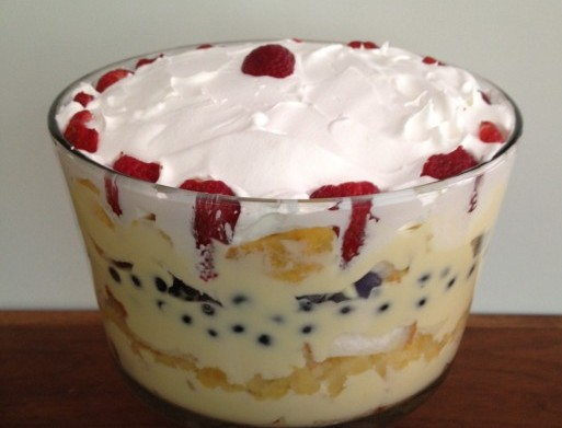 Newfoundland Trifle Recipe
